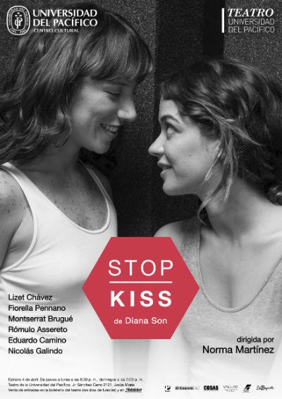 "Afiche de ""Stop Kiss"". (Foto: Difusión)"
