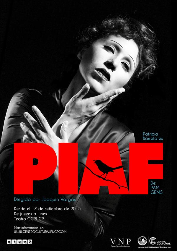 Piaf de Pam Gems.