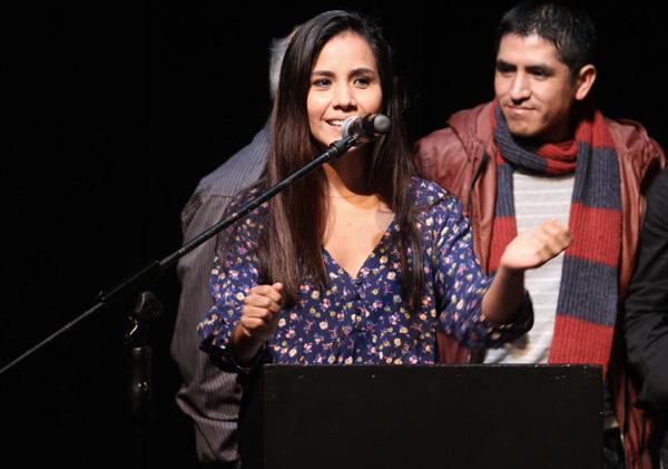"""Nidia Bermejo dio detalles del futuro de """"La Cautiva"""" en conferencia de prensa del Festival Sala de Parto. (Foto: Difusión)"""